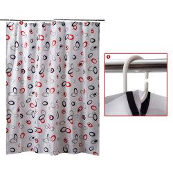 Cの整形プラスチック浴室のシャワー・カーテンの棒のホックのリング