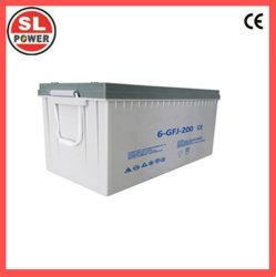 Глубокую цикл аккумуляторной батареи 12V200ah AGM Gel свинцовых солнечной батареи для хранения
