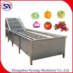 Bewegliches Frucht-Gemüse-Unterlegscheibe-Maschinen-Nahrungsmittelgrad-Edelstahl-Luftblasen-Reinigungsmittel