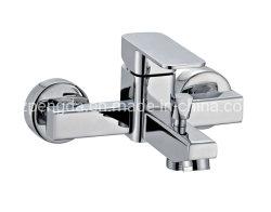 Levier unique commun durables robinet du bain