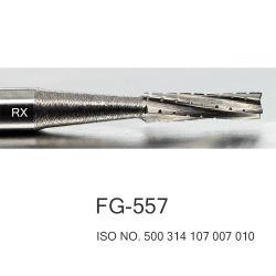 Taglierina rotativa del tungsteno di Burs del carburo per Handpiece dentale ad alta velocità FG-557