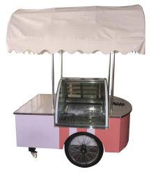 Banheiras Gelato para Carrinho de sorvete de homologação CE