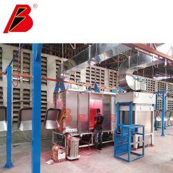 Linea di pezzi industriali di rivestimento a polvere Multi-Power completamente automatica