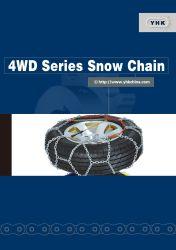 4WD de Ketting van de Sneeuw van de reeks