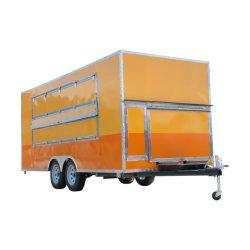 熱いカナダの販売によって剃られる氷の食糧トレーラーの電気移動式食糧トラック
