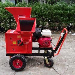 13 HP gasolina alimentado 100mm capacidade suores do picador de madeira
