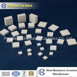 Alumina Wear-resistantはさみ金の部分プーリーラギングの製陶術