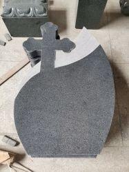 Natural Grey Black G684 Graniet Customization Monumenten Tombstone