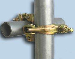 Acopladores de andaimes andaimes tipo de peça e galvanizados a quente BS1139 do tubo de andaimes