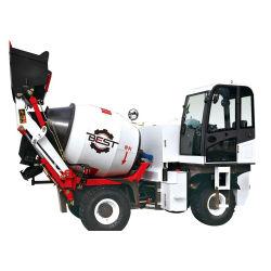 具体的な区分のプラントのための具体的な混合のトラックをロードしている1人の立方メートルの自己