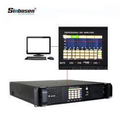 La mayoría de profesionales potente amplificador DSP12000P 4 canales de audio DSP Módulo amplificador de potencia