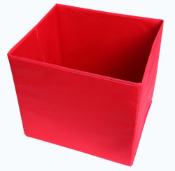 Casa de promoción barata multiuso plegable Poliéster Zapata Caja de almacenamiento de juguetes para niños