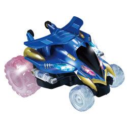 Speelgoed R ons Auto met 4 wielen Op batterijen van de Raceauto's van de Ridder van de Auto van de Stunt RC de Mini Elektrische