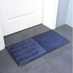 El plástico de PVC de esteras de la puerta de la bobina Desinfecting Alfombra de pie