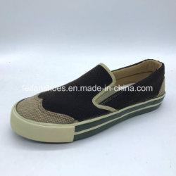 Европейский дизайн мужчин Vulcanized Canvas удобную обувь повседневная обувь (JM1859-2)