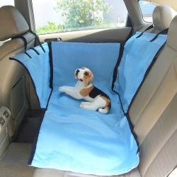 Color azul Oxford dos Tamaño del tronco del asiento de Pet utilizado por perro