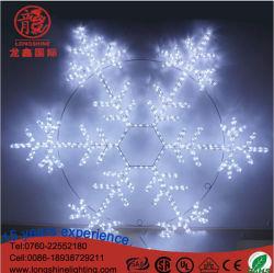 Светодиод снег стиле веревки для освещения рождественские украшения для установки вне помещений
