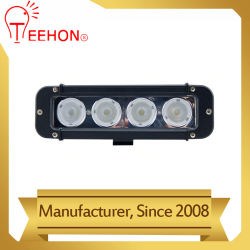 40W CREE LED simple rangée de travail barre lumineuse de Lampe de feu