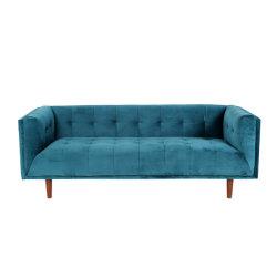 3 Seaterの居間のソファー(XD-384)のための方法ファブリックホーム家具