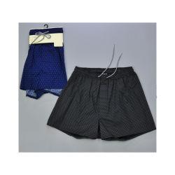 изготовленный на заказ<br/> тканого Боксерские шорты молодых мужская напечатано нижнее белье