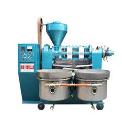Guangxin 270kg/h Making Machine d'huile de maïs avec filtre à huile vide Yzyx120wz