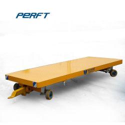 Logística plataforma de transferencia de superficie plana de 3t transporte de mercancías