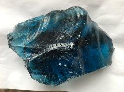 Pietre delle rocce di vetro con differenti colori