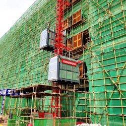 모터는 Sc100 감금소 건축 호이스트 1ton에 의하여 주문을 받아서 만들어진 수출 브라질을 강화했다