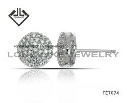 Silberne Ohrring-Schmucksachen einfach für Großverkauf