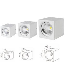 Eindeutige Einkaufszentrum-Beleuchtung 20W 30W 40W Dimmable des Quadrat-LED Downlight der Lampen-CRI90 beleuchten unten
