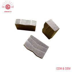 V het Segment van de Diamant van het Type voor de Markt van India van het In blokken snijden van het Graniet