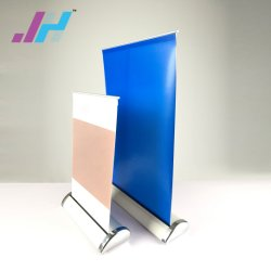 Mini-Table-Werbung Aluminium Roll-Up-Bannerständer A4/A3
