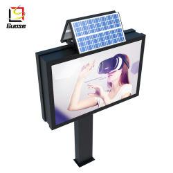 Для использования вне помещений LED солнечной энергии из цельного алюминия блок освещения дисплея.