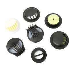 Válvula de respiração de borracha de plástico do Filtro da Válvula de Exaustão de Ar para Protecção Pessoal