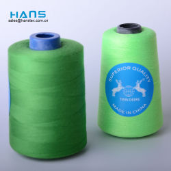 Hans Custom Manufactured Dyed Naaiende Draad 100% Gesponnen Polyester