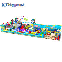 Parque de atracciones temáticas de océanos de plástico interior Playground diapositivas