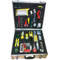 Outil d'épissure Shinho accessoire Kit d'outil FTTH tous dans une fusion à fibres optiques de luxe Tool Kit de raccord