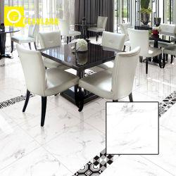800X800食堂の大理石の一見の床によって艶をかけられる磁器のタイル