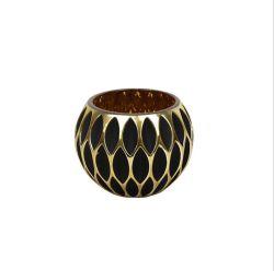 Hande di ceramica ha fatto il supporto di candela decorativo domestico di vetro di mosaico di Tealight