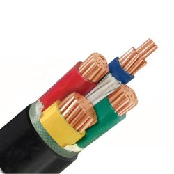 16AWG 16mm 061kv 5 Core Núcleos flexíveis de PVC de Fios blindados de matérias-primas para cabo de alimentação