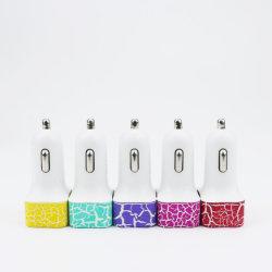 Universal double 4 ports USB rapide double chargeur de voiture USB Fast chargeur de batterie de voiture