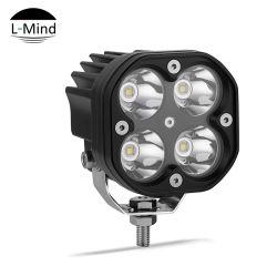 3pouce 40W Moto ampoules à LED à montage latéral carré universelle Honda Moto Projecteur à LED