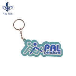 선전용 선물 &Soft PVC에 의하여 주문을 받아서 만들어지는 소형 Keychain