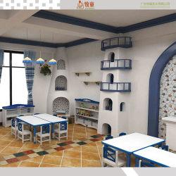 Armário para armazenamento de mobiliário da sapata de madeira utilizada para crianças da escola