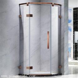 Salle de douche accessoires matériels de bronze rouge