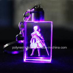 Создание пользовательских образов гравировка мобильного телефона USB Crystal цепочке для ключей для рекламных подарков