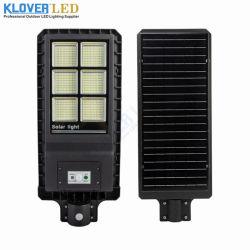 IP65 exterior 30W 60W 90W Luz Rua Solar de LED com bateria de reserva