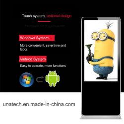 Для использования внутри помещений станции метро напольные WiFi Android/Windows Ad/Ads/рекламы Media Player цифровой киоск Тотем LED/жидкокристаллического экрана