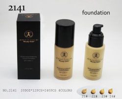 『鷲羽顔のホワイトニング化粧品 4 色液体財団』