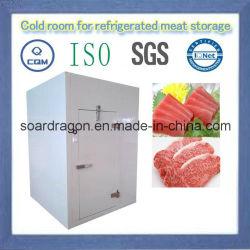 Desmontagem Sala Fria para armazenagem de carne refrigerada